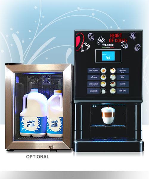 Saeco Phedra Evo - Cappuccino Vending Machine