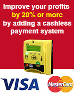 Improve your profits with Nayax Cashless Payment System